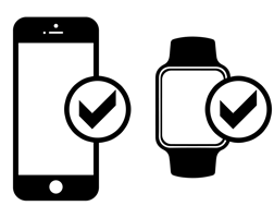 Compatible iPhone & Apple Watch